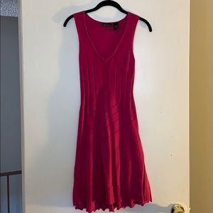 Magenta Knit Dress